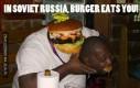 W Rosji to Burger je ciebie