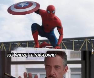 Spider-Man okradł biednego staruszka!