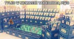 Tylko w Niemczech tak kochają piwo