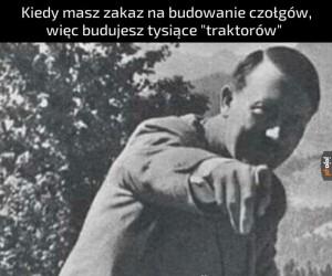 """""""Widzisz Göring, traktat wersalski to tylko spisek Żydów"""""""