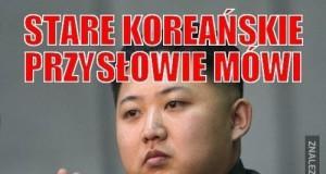 Stare koreańskie przysłowie