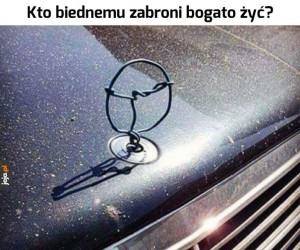 Piękny Mercedes