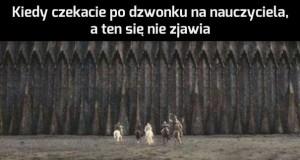 """""""Kwadrans akademicki was nie obowiązuje bla bla bla..."""""""