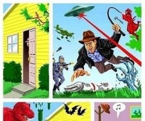 Indiana Jones i poranna gazeta