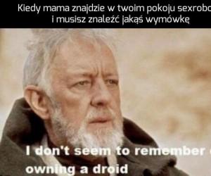To nie jest droid, którego szukasz