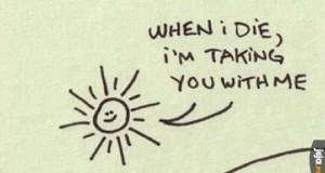 Słońce, przerażasz mnie
