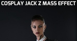 Cosplay Jack z Mass Effect