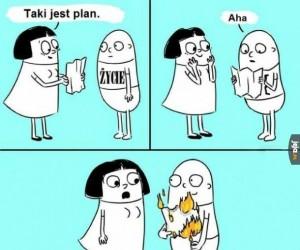 Masz plan? Jak miło...