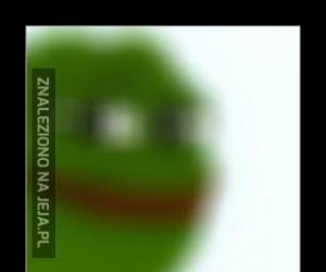 Oto bardzo rzadki Pepe