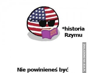 Ameryka nadrabia historię