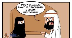 Taaa, na delegację...