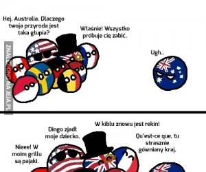 Australia mówi więcej niż tysiąc słów
