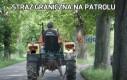 Straż graniczna na patrolu