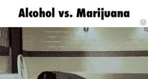 Alkohol vs Marihuana