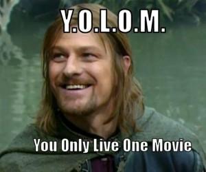 Żyje się tylko jeden film