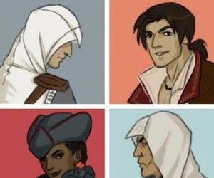 Bohaterowie gier z serii Assassin's Creed