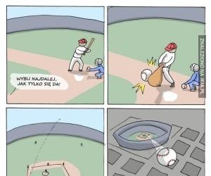 Bejsbol - tylko dla kozaków