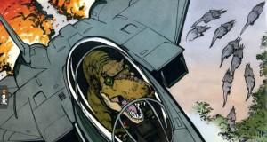 Tyranozaur w F-14