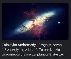 Na szczęście inne planety nie mają się co martwić