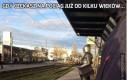 Gdy czekasz na pociąg już od kilku wieków...