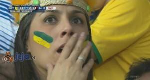 Różne reakcje na przegraną Brazylii...
