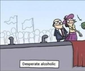 Zdesperowany alkoholik