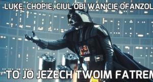 Luke, chopie, ciul Obi Wan cię ofanzolił