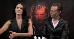 Gdzie się gapisz, Hiddleston!