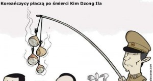 Koreańczycy płaczą po śmierci Kim Dzong Ila