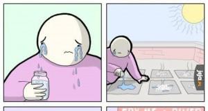 Frytki posolone łzami rozpaczy i rozczarowania
