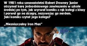 Ironia losu - Robert Downey Jr