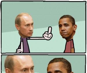 Stosunek Putina do Obamy
