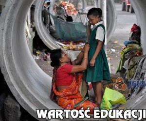 Wartość edukacji...