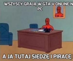 Wszyscy grają w GTA V online na PC