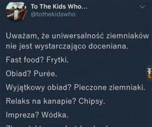 Ziemniak - pokarm bogów