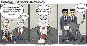 Biurowe przygody Bizneskota