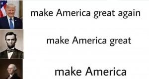 Wielkie amerykańskie osobistości i ich hasła