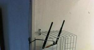 Wi-Fi z blokadą