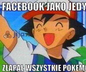 Facebook jako jedyny...