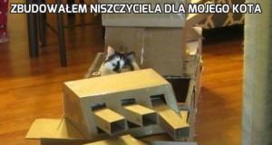 Zbudowałem niszczyciela dla mojego kota