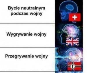 Różne kraje w obliczu wojny
