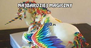 Najbardziej magiczny tort na świecie