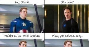 Kapitan Ameryka dobrze kombinuje