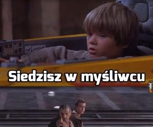 Anakin od początku miał pod górkę