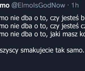 Elmo to prawdziwa gwiazda tolerancji