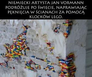 Sztuka z klocków Lego