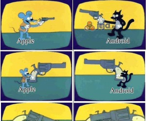 Wojna Apple z Androidem