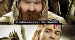 Nie sądziłem, że umrę u boku Playstation