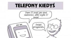 Telefony kiedyś i dziś