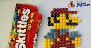 Co można zrobić z paczką Skittlesów?